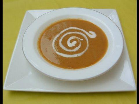 Recette Vid�o : recette soupe legumes indienne